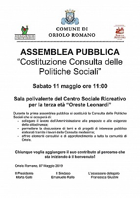consulta politiche sociali - maggio 2019_1