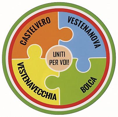 Logo lista: Uniti per Voi!