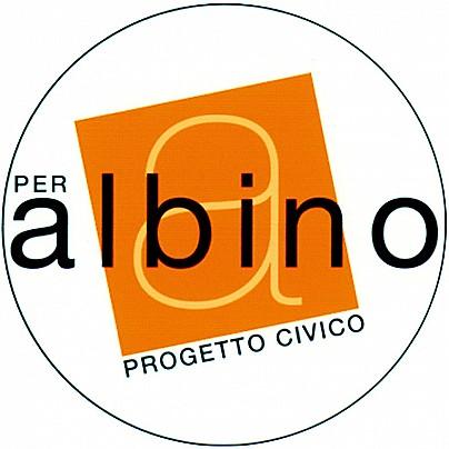 Logo lista: PER ALBINO PROGETTO CIVICO