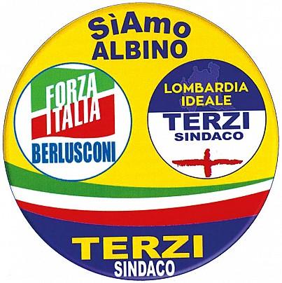 Logo lista: SIAMO ALBINO TERZI SINDACO