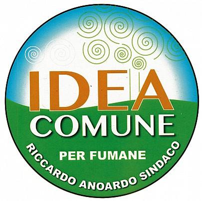 Logo lista: IDEA COMUNE PER FUMANE - RICCARDO ANOARDO SINDACO