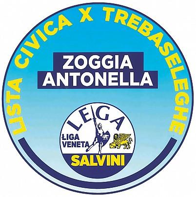 Logo lista: Lista Civica X Trebaseleghe - Zoggia Antonella
