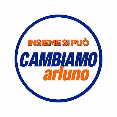 Logo lista: INSIEME SI PUO' CAMBIAMO ARLUNO