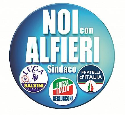 Logo lista: NOI CON ALFIERI SINDACO
