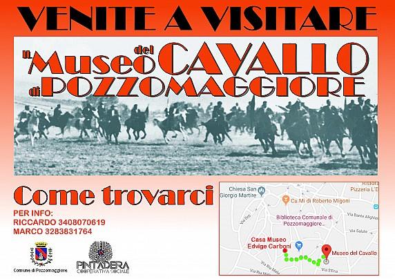 MUSEO DEL CAVALLO CARTELLO