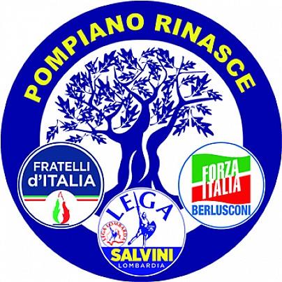 Logo lista: Pompiano Rinasce