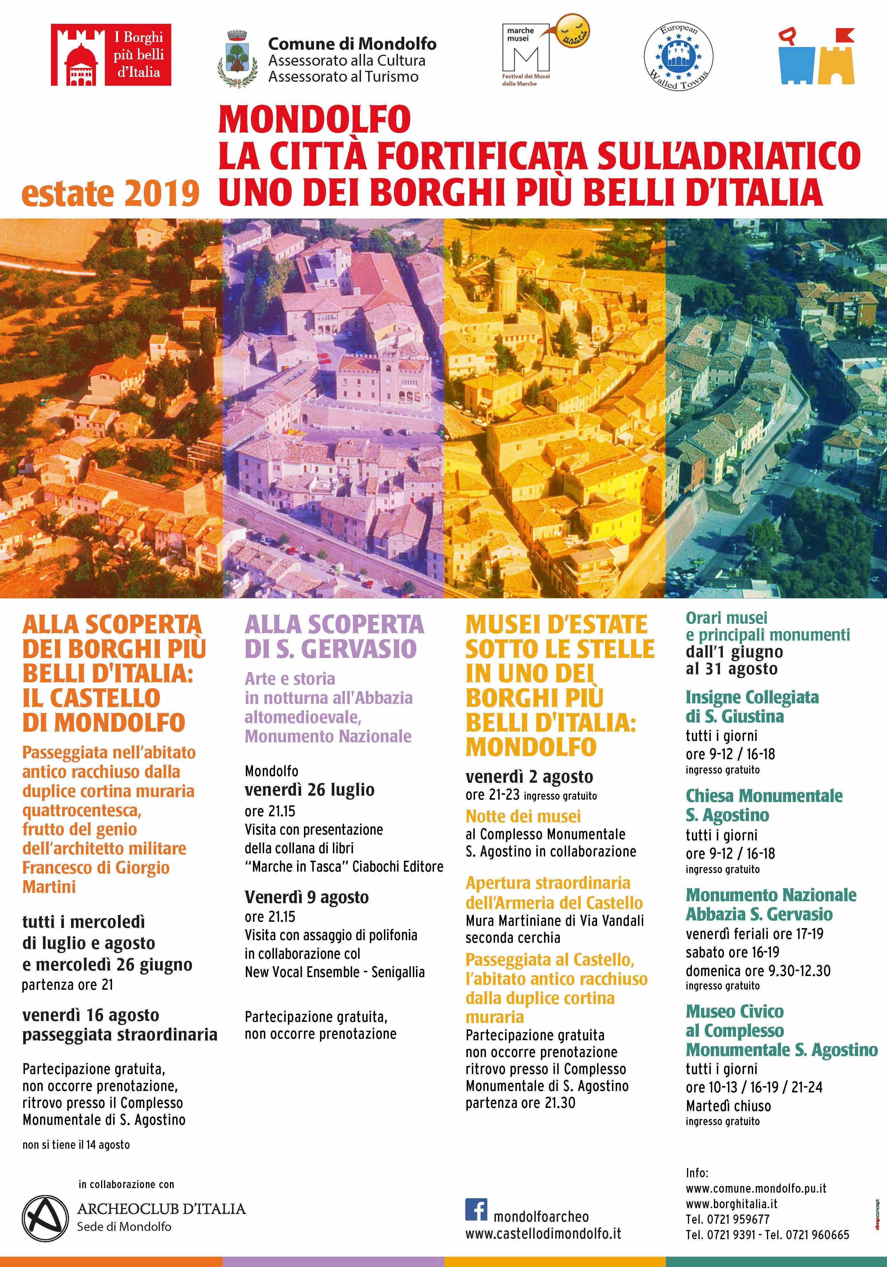 """Dal 1 giugno 2019 si parte con i nuovi orari per i Musei civici e con le iniziative di """"Estate al Castello"""""""