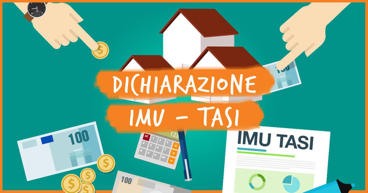 DICHIARAZIONE IMU - TASI PER L ANNO DI IMPOSTA 2018