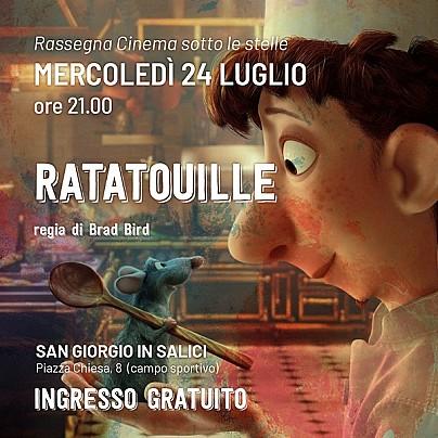 Ratatouille Cinema estate 2019