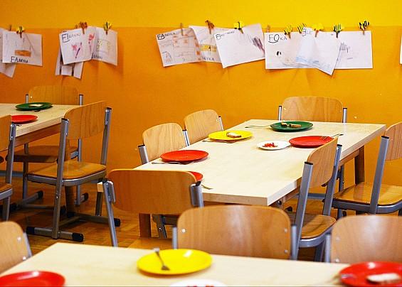 Un'integrazione alla quota mensa per le famiglie in difficoltà