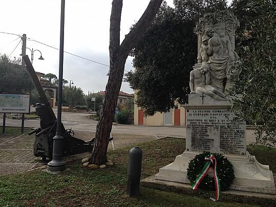 Monumento ai caduti in località Trebbio di Montegridolfo