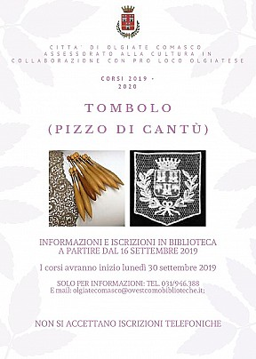 Tombolo 2019 2020 Olgiate