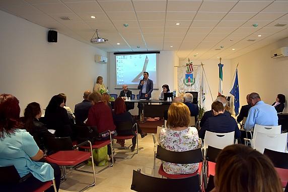 8 - Osilo, meeting internazionale - Intervento del sindaco Giovanni Ligios