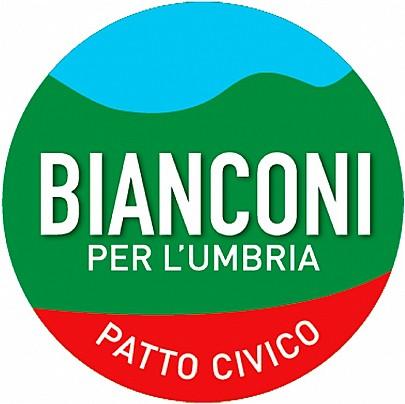Logo lista: Bianconi per l'Umbria