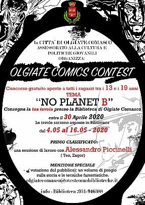 Locandina Olgiate Comics Contest 2020