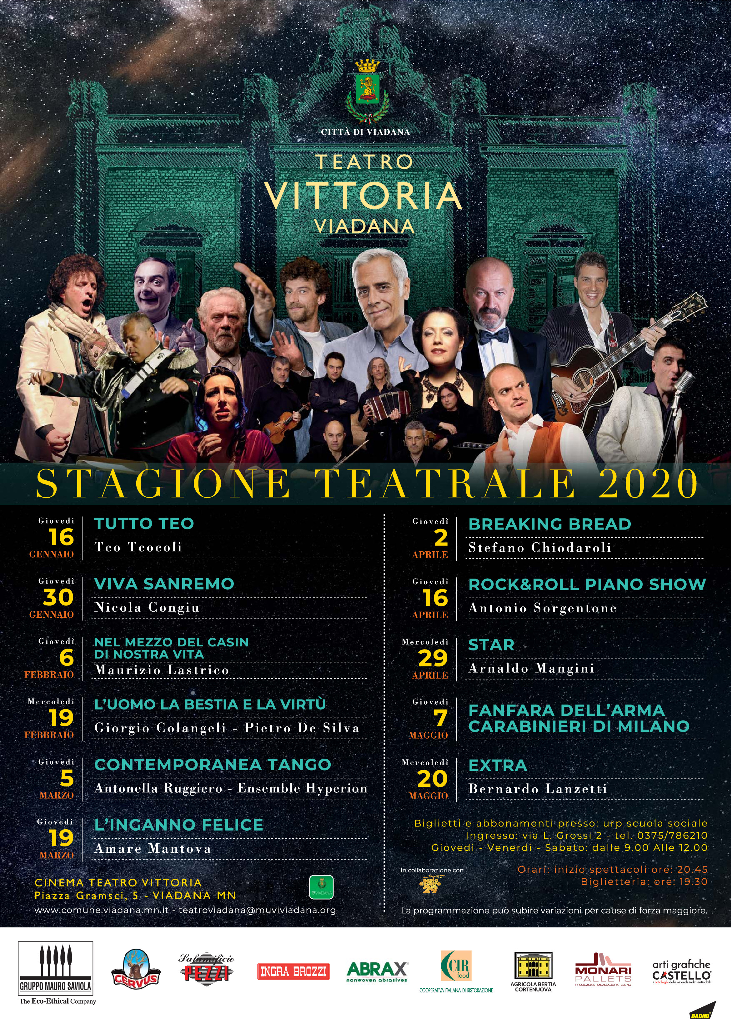 19/02/2020 - GIORGIO COLANGELI - PIETRO DE SILVA