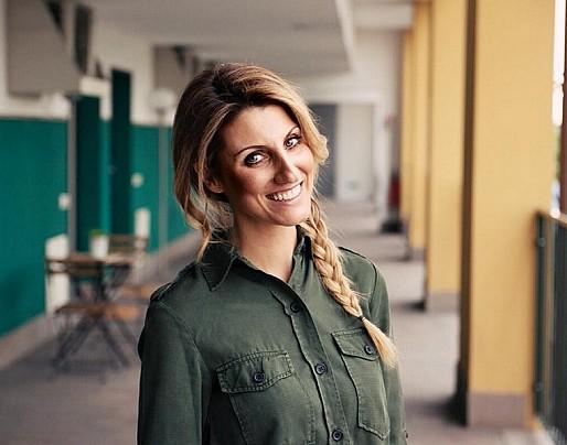 Giorgia Benusiglio a scuola per la lotta contro la droga