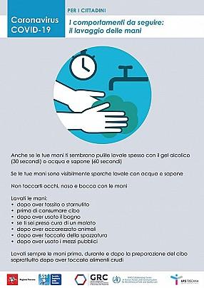 lavaggio mani