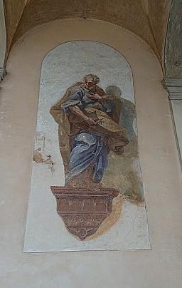affresco chiesa SS. Pietro e Paolo