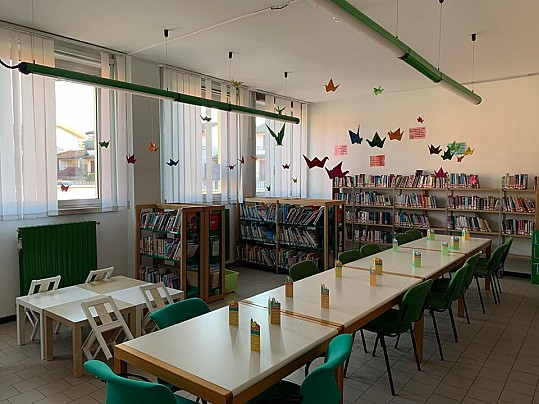 Biblioteca Landriano Bambini Origami Gru
