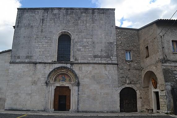 faccita della chiesa di santa maria