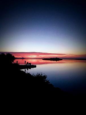 tramonto Foce Coghinas