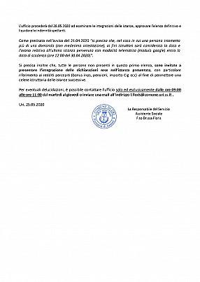 25.05.2020 allegato det. 31  PUBBLICAZIONE 1° ELENCO ISTANZE AMMESSE – SOSPESE - ESCLUSE_pages-to-jpg-0002