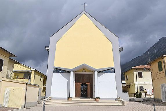 facciata chiesa del sacro cuore