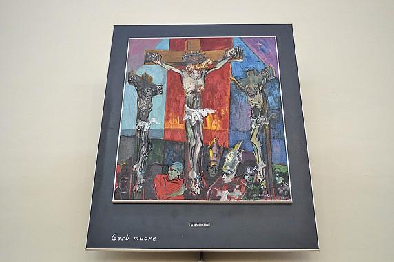 via crucis gesù muore (opera di bergonzoni)