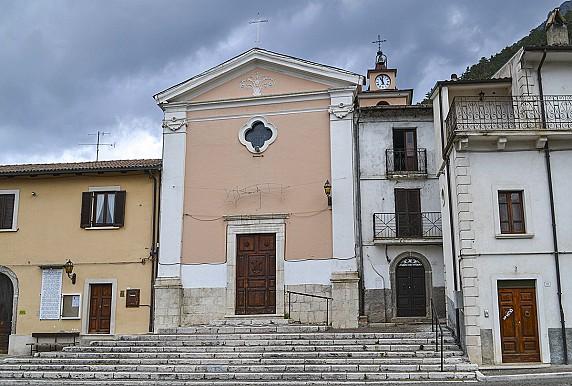 facciata chiesa di san rocco