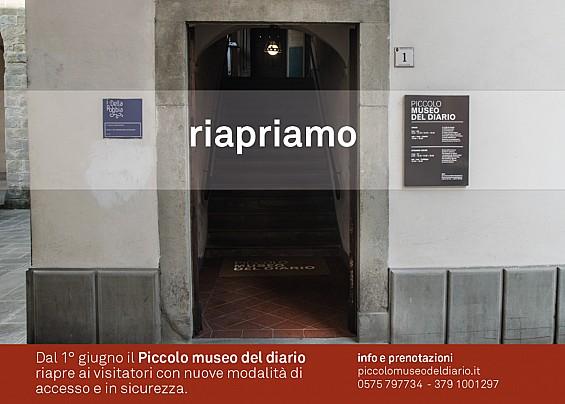 il 1 Giugno riapre il Piccolo Museo del Diario !