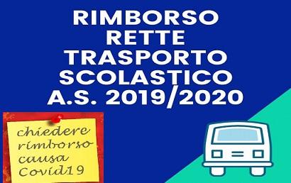 Comune di Gualtieri Sicaminò - Richiesta di rimborso quota mensile compartecipazione abbonamento scolastico 2019-2020