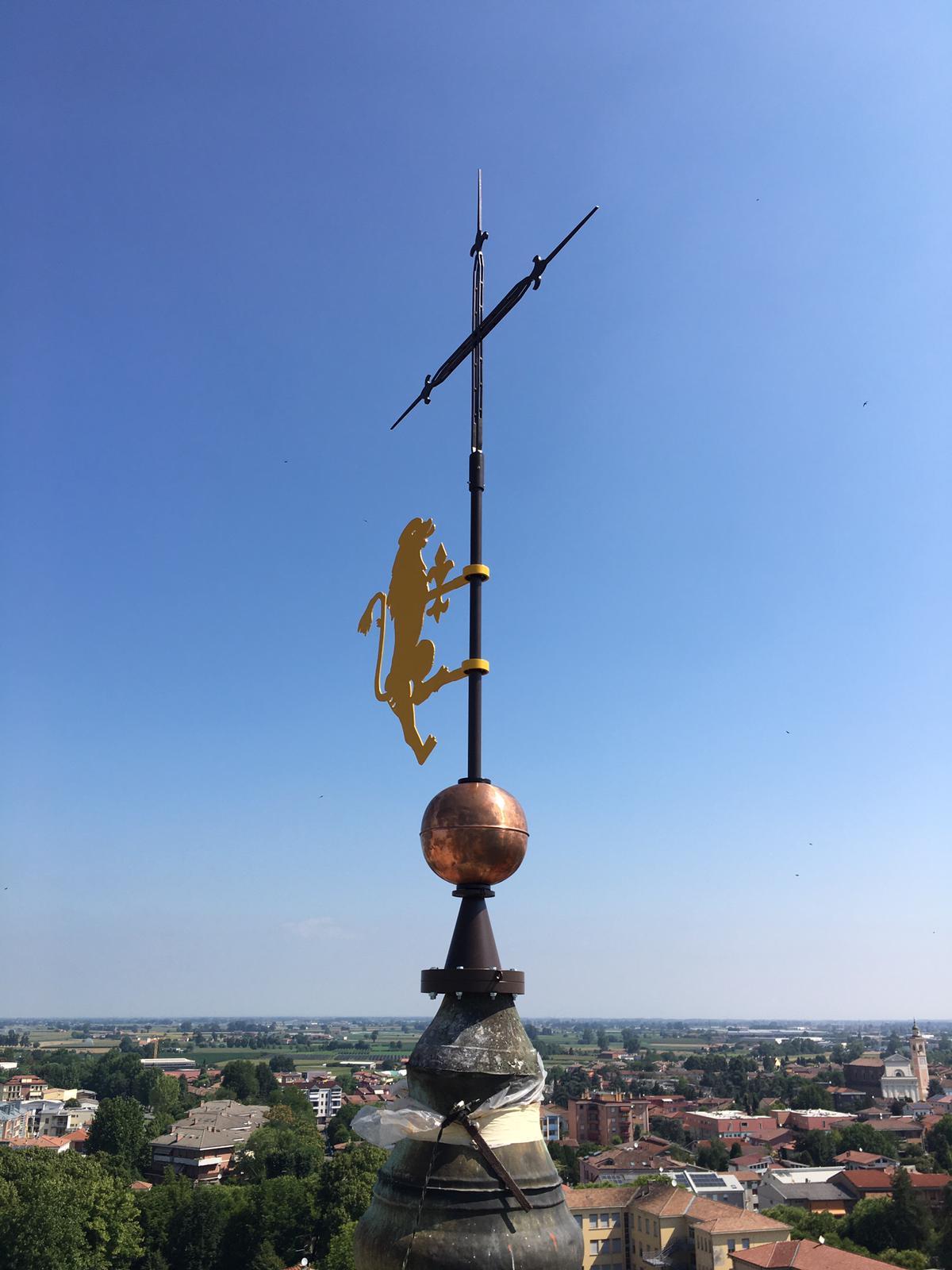 30/06/2020 - Inaugurazione Fontana di Piazza Manzoni e Leone del campanile municipale