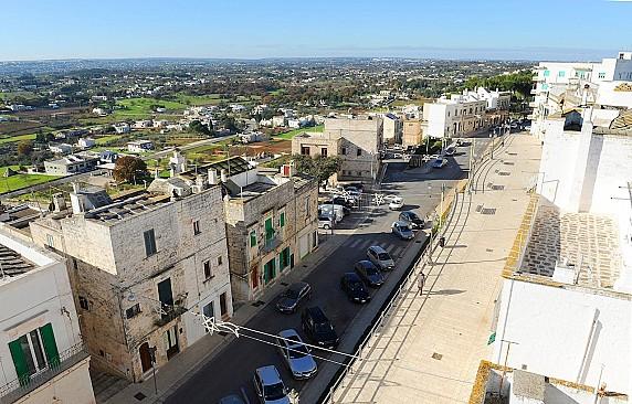 Via San Quirico - vista dall'alto