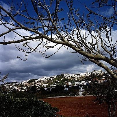 Veduta del Borgo dalla Valle d'Itria