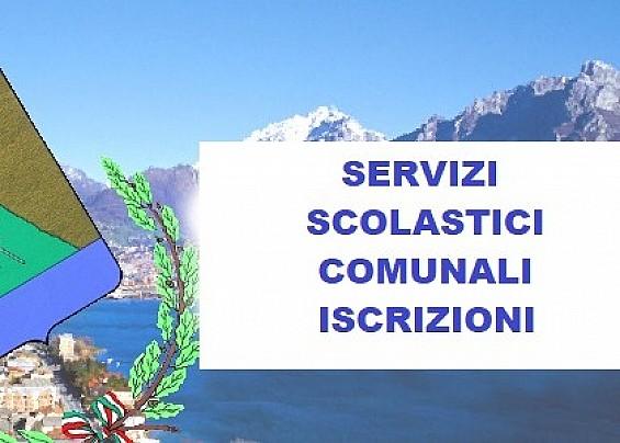 APERTURA ISCRIZIONI SERVIZI SCOLASTICI COMUNALI ANNO SCOLASTICO 2020/2021