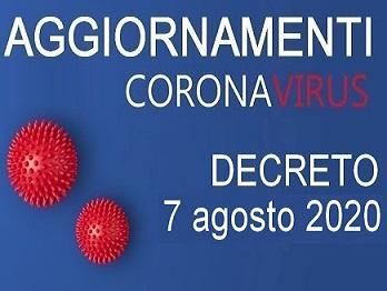 Coronavirus, nuovo dpcm con tutte le precauzioni anti-contagio da seguire nel mese di agosto