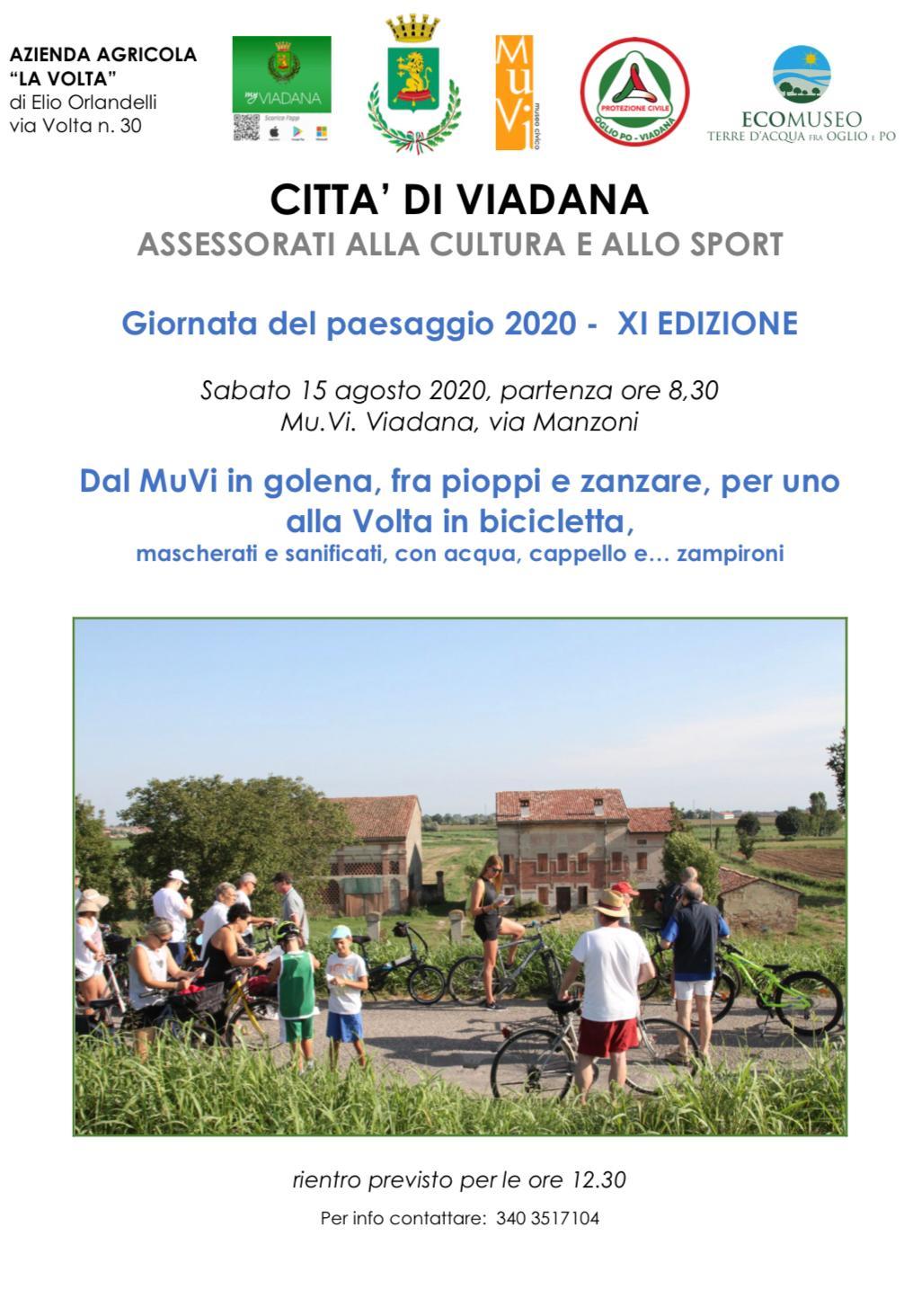 """15/08/2020 - XI EDIZIONE """"Giornata del Paesaggio"""""""