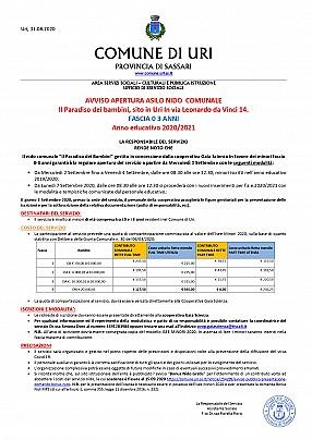 AVVISO APERTURA ASILO NIDO  COMUNALE a.e. 2020.2021_page-0001
