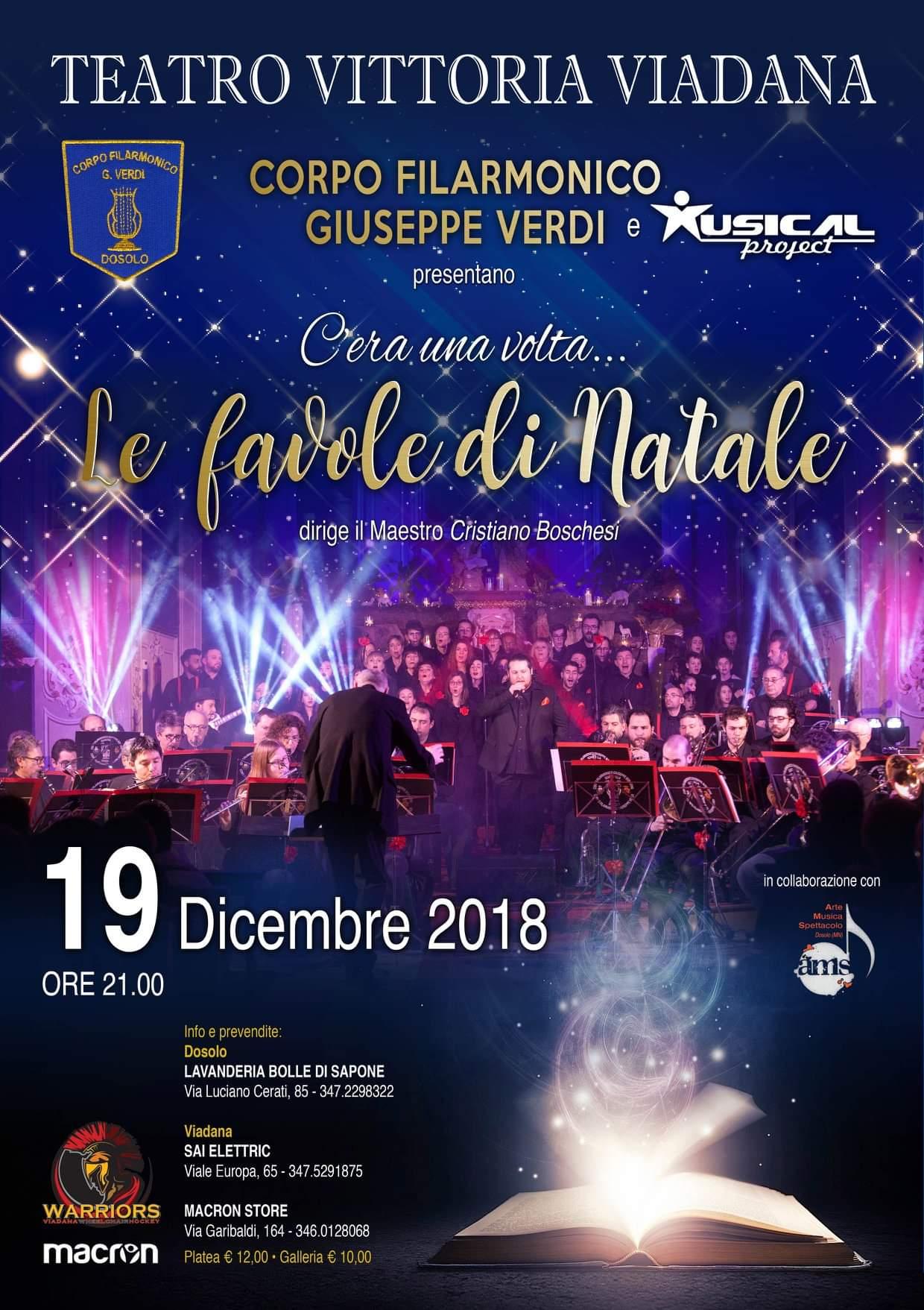 05/12/2018 - Il Corpo Filarmonico Giuseppe Verdi presenta