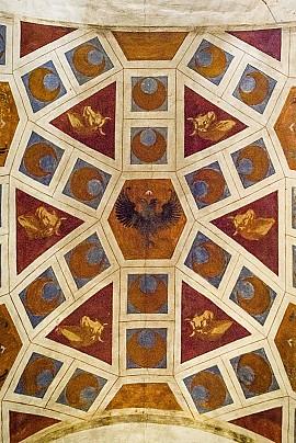 4.1stemma nobiliare piccolomini, chiesa santa maria valleverde