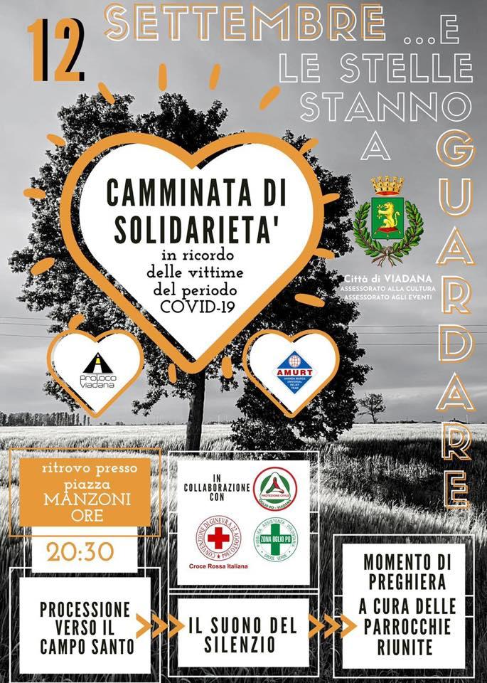 12/09/2020 - CAMMINATA DI SOLIDARIETA  IN RICORDO DELLE VITTIME DEL PERIODO COVID19