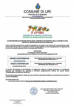 2 AVVISO PREISCRIZIONE LUDOTECA E CENTRO DI AGGREGAZIONE SOCIALE_pages-to-jpg-0001