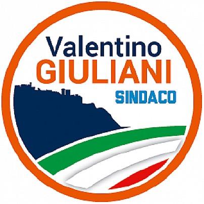 Logo lista: VALENTINO GIULIANI SINDACO