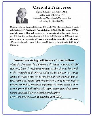 Casiddu Francesco
