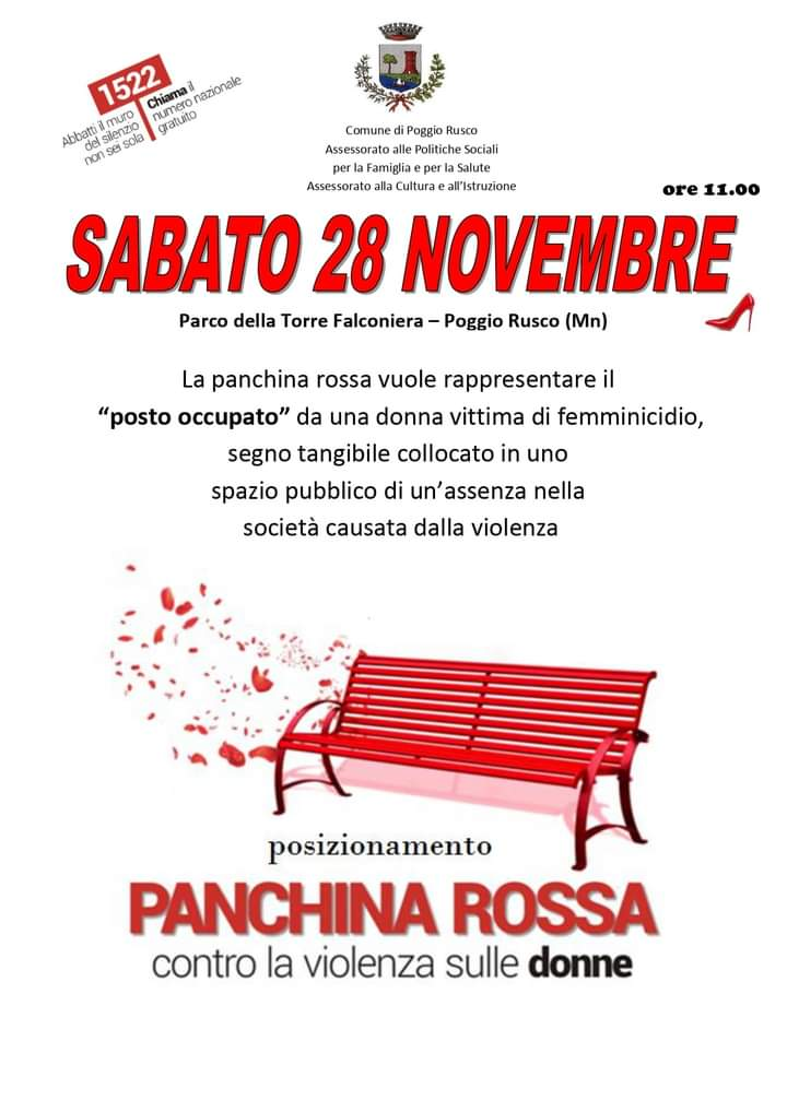 25 Novembre - Giornata internazionale per l'eliminazione della violenza contro le donne
