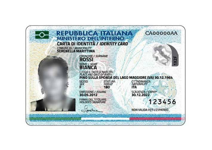 Carta Identita Rinnovo - Semerbak m