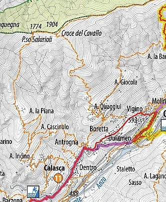 Calasca - Passo Salarioli