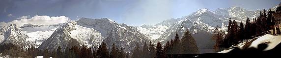 Panorama dall'Alpe Cicerwald