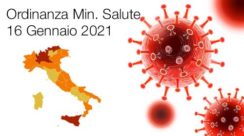 ORDINANZA MINISTERO DELLA SALUTE